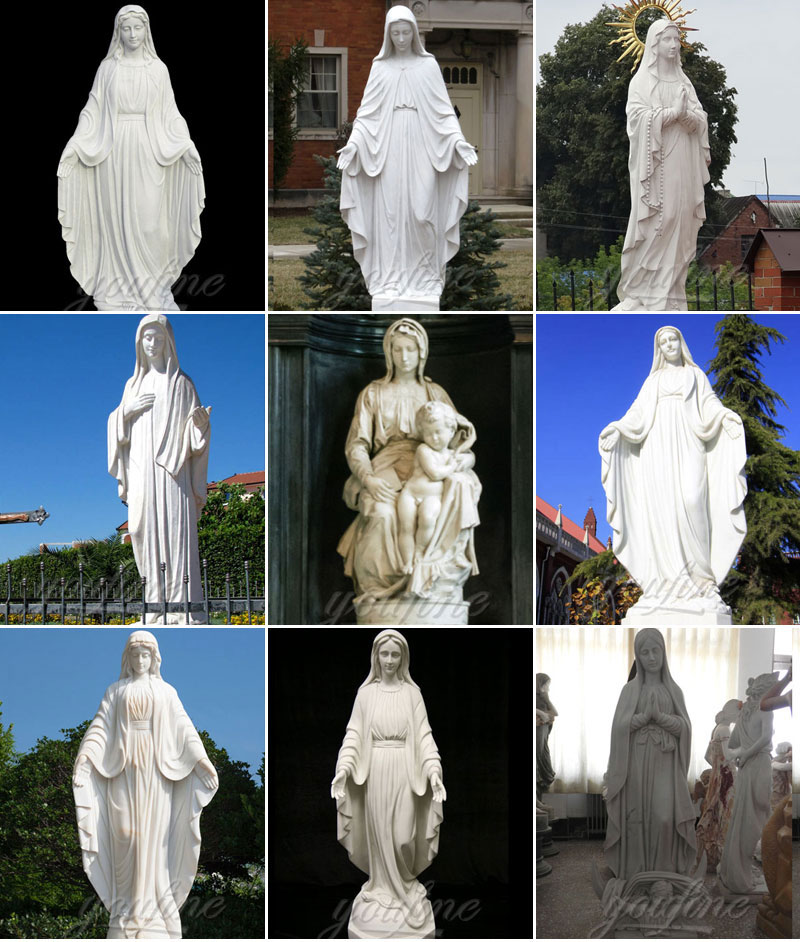 Praying Virgin Mary Religious Statue for Wholesales from China