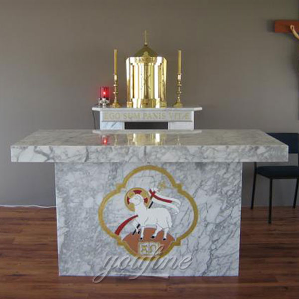 Stone Altars For Sale: Marble Carving Religious Statue