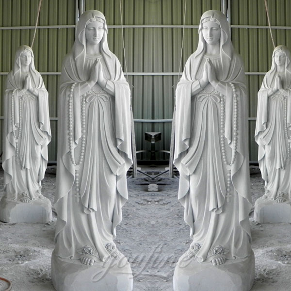 Church religious blessed mother statues on sale