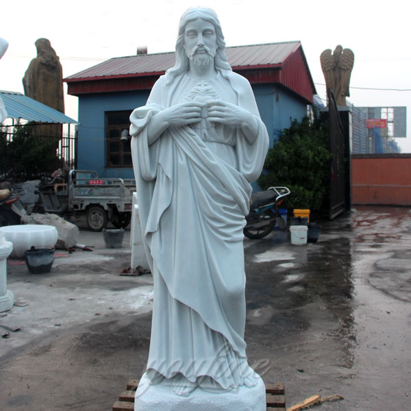 Large life size religious statues of jesus for garden use