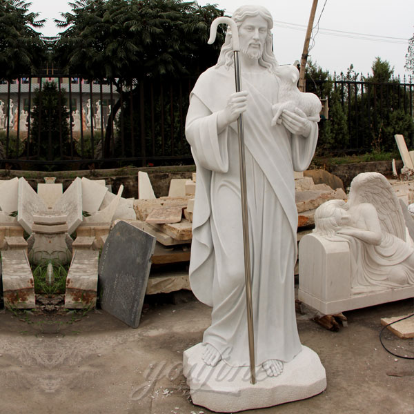 Large Outdoor Religious Statues of Tall Jesus Statue for Garden Decor