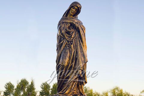 Outdoor Antique Metal Craft Life Size Bronze Jesus Statue for Sale