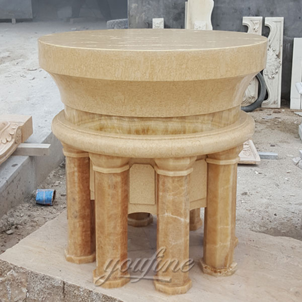 New Traditional Custom Hand Carved Marble Altars Stands for Church