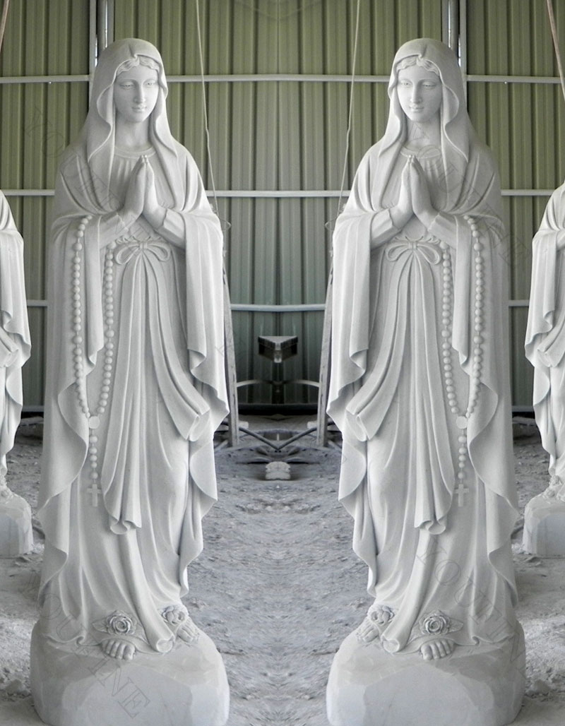 church religious blessed mother statues design