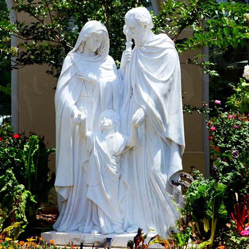 Outdoor Famous Holy Family Statue Designs for Garden Decor for Sale