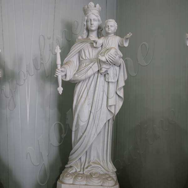 High Quality Christian Our Lady of Perpetual Marble Statue