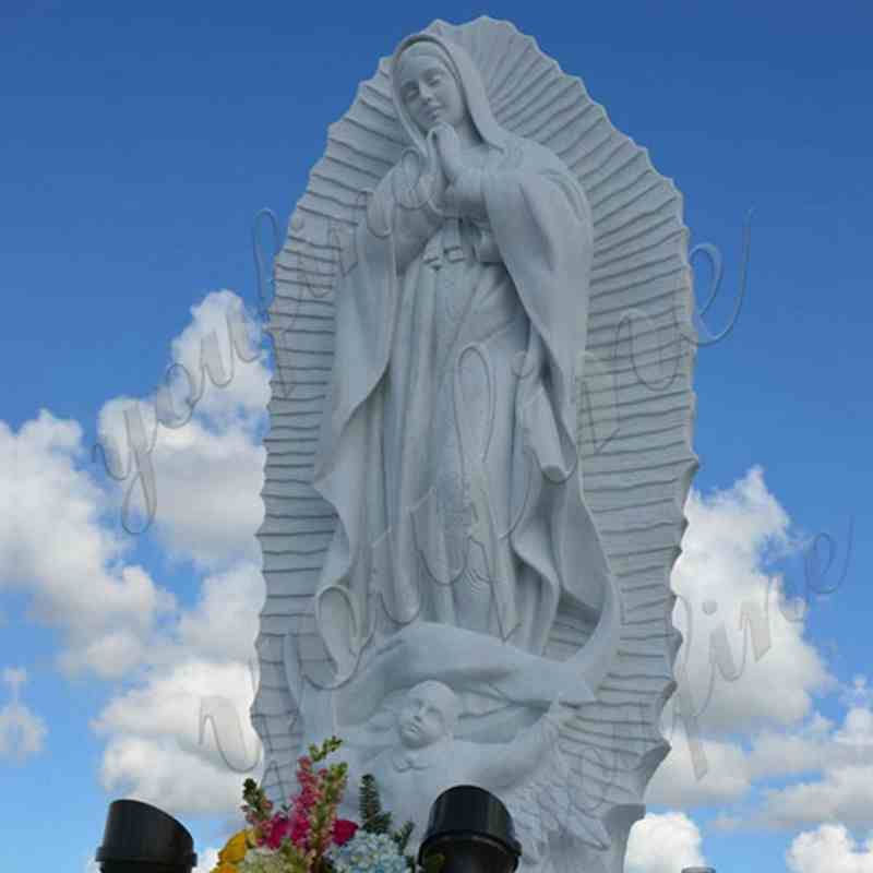 Our-Lady-of-Guadalupe-religious-marble-statue