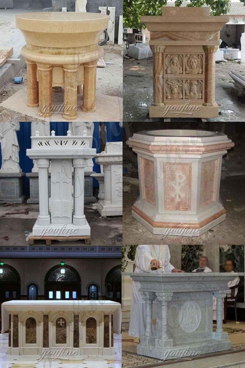 High Quality Marble Church Altar Table