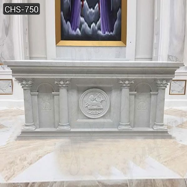 high Quality Marble Church Altar Table Design for Sale
