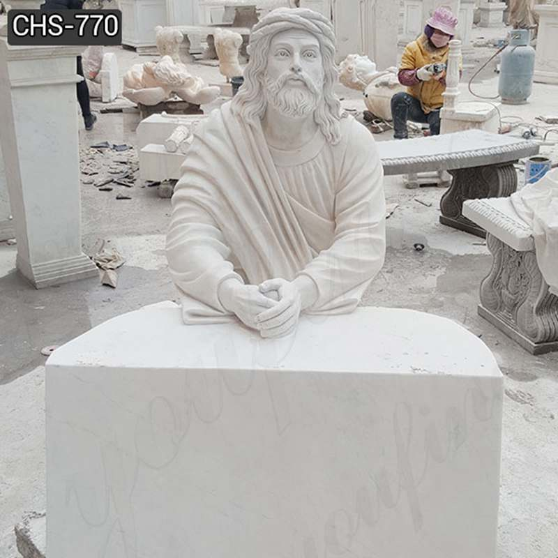 Jesus Praying Marble Statue Church Suppliers