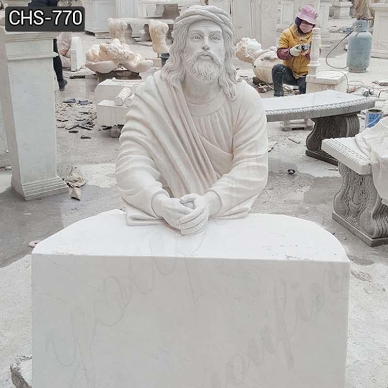 Jesus Praying Marble Statue Church Suppliers