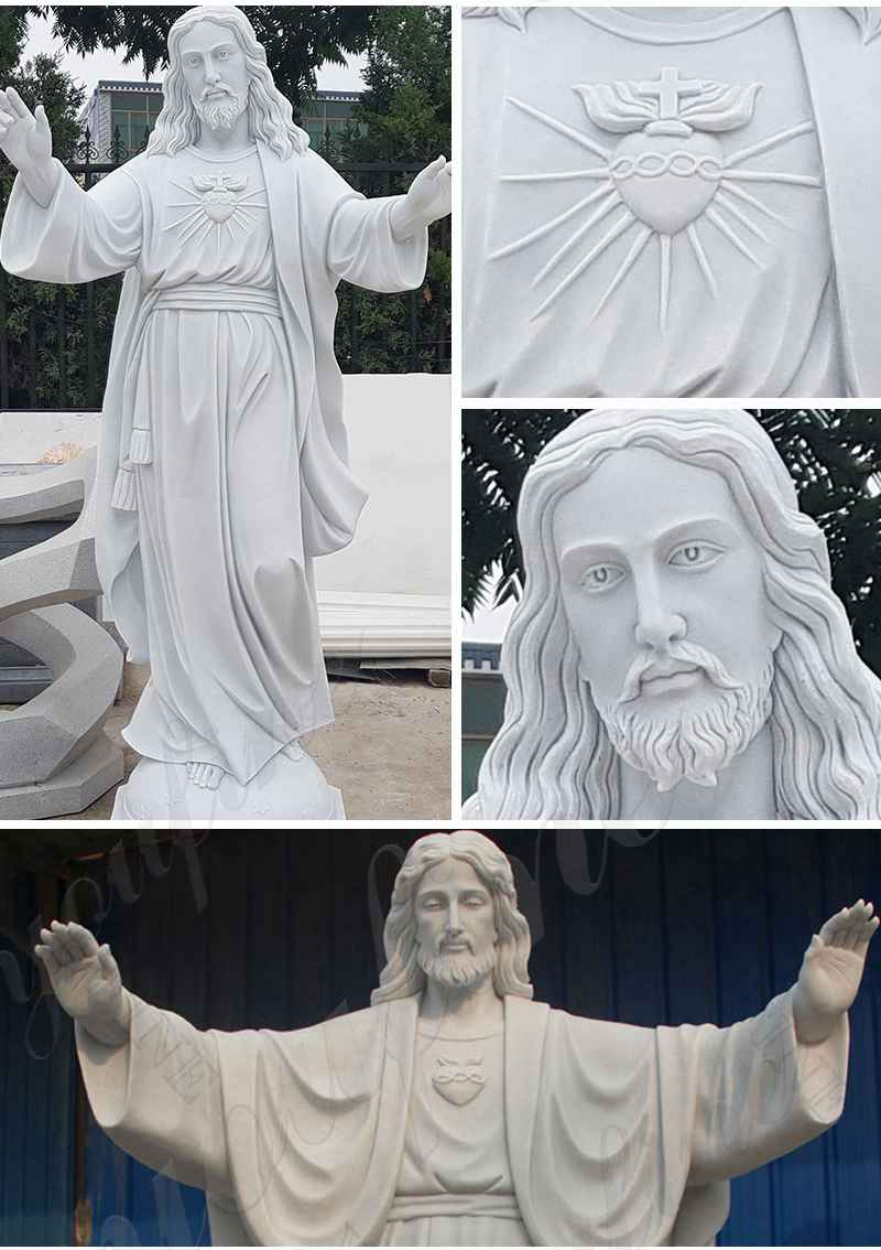 life size jesus marble statue
