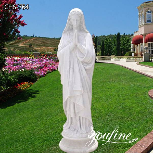 Catholic Marble Mary Blessed Mother St