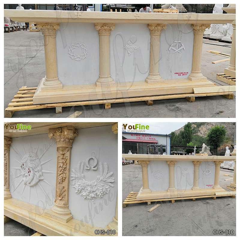 Catholic Marble Altar Design for Church for Sale