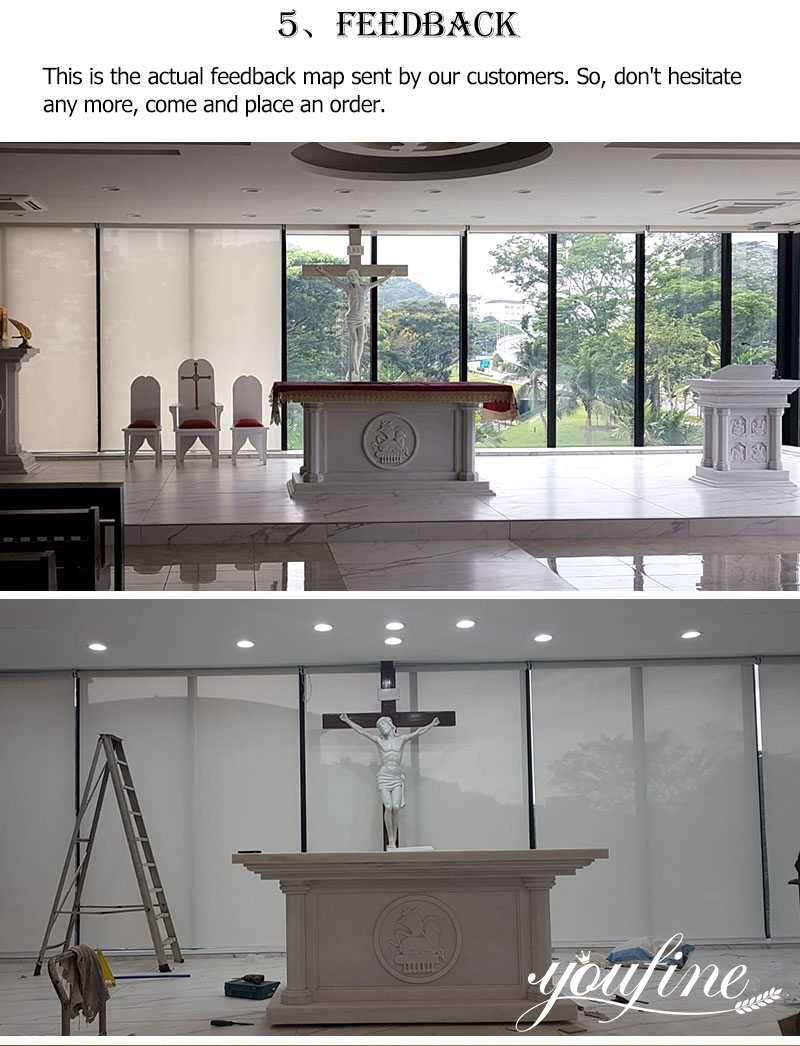 Marble church altar for sale