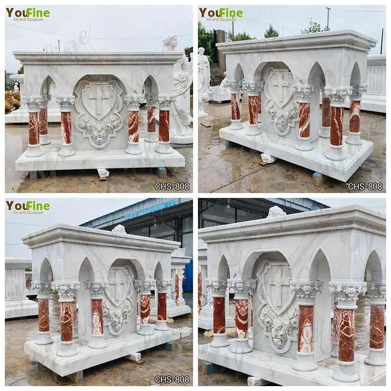 Modern Catholic Marble Altar Table Church Design for Sale