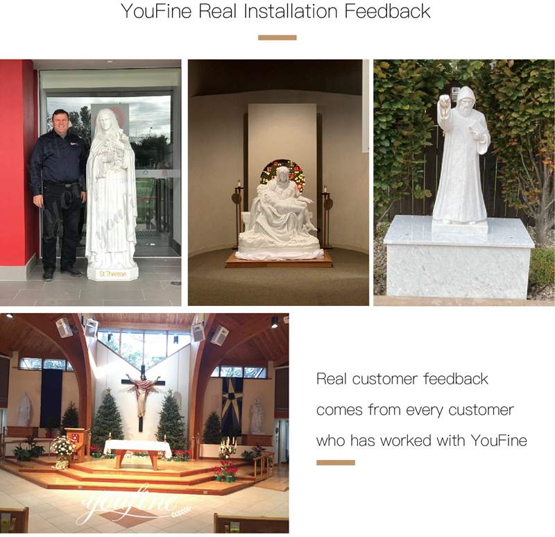 marble mary statue for sale