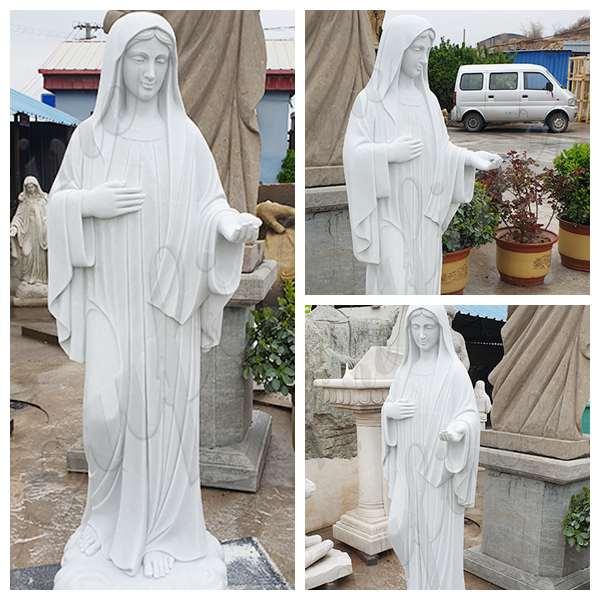 Catholic Marble Life Size Mary Statue