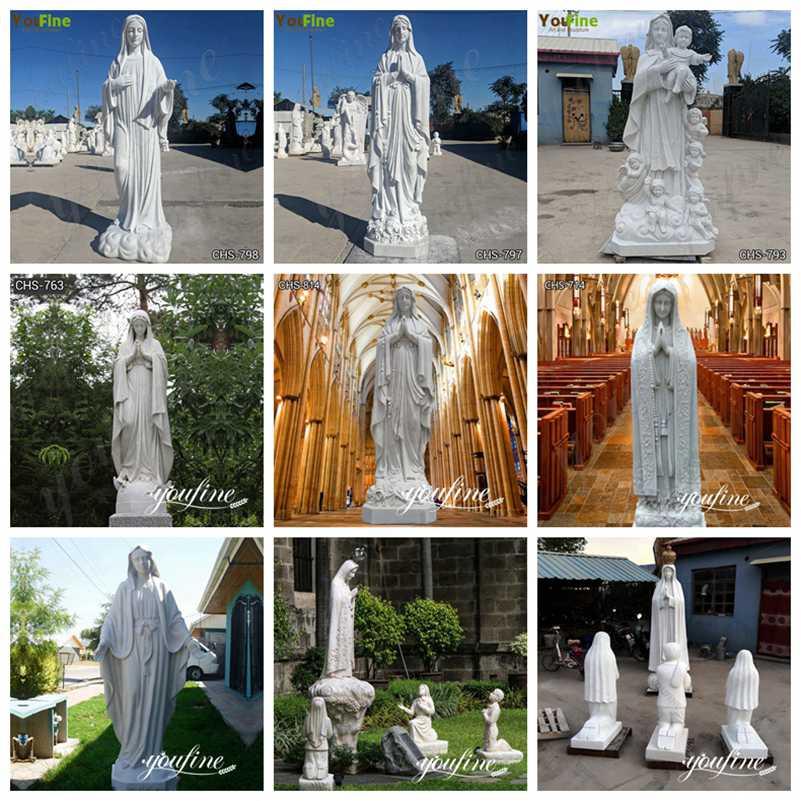virgen de guadalupe statues