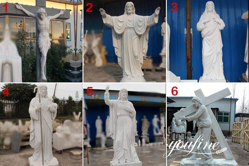 life size jesus christ statue